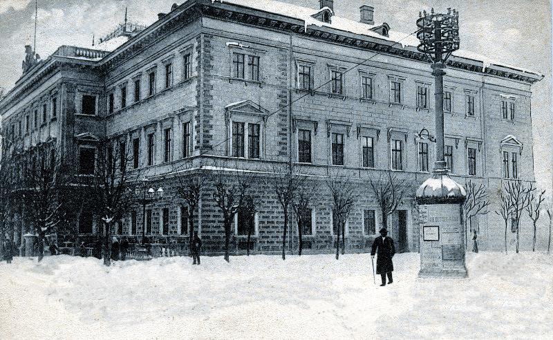 Cernăuți: scaunul guvernului provincial al Bucovinei, circa 1900 - foto preluat de pe ro.wikipedia.org
