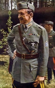 Baronul Carl Gustaf Emil Mannerheim (n. 4 iunie 1867 Askainen, Finlanda - d. 27 ianuarie 1951 Lausanne, Elveția) a fost un militar și politician finlandez. A fost cel de al șaselea președinte al Finlandei (1944–1946) - foto: ro.wikipedia.org