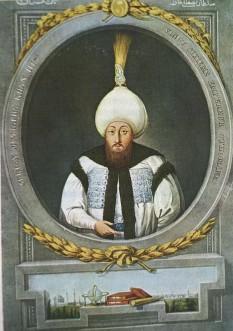 Mustafa al III-lea (n. 28 ianuarie 1717; d. 21 ianuarie 1774) a fost între 1757 - 1774, sultan al Imperiului Otoman. El a fost fiul lui Ahmed al III-lea. Mustafa a fost un monarh energic care a căutat să modernizeze armata otomană. Această politică provoacă nemulțumirea ienicerilor și imamilor. În timpul lui a luat ființă academia de matematică, navigație și științe naturale. Mustafa fiind conștient de slăbirea puterii trupelor otomane, caută evitarea războaielor. Însă după anexarea de către Ecaterina cea Mare a peninsulei Crimeea, declară război Rusiei, urmarea fiind Războiul Ruso-Turc din 1768–1774 - foto: ro.wikipedia.org