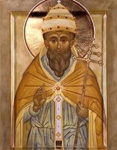 Sf. Leon cel Mare sau Papa Leon I, cunoscut si ca Papa Leon cel Mare, (c. 400-461), episcop al Romei, papă în perioada 440 - 461. Praznuirea sa de catre Biserica Ortodoxa se face la data de 18 februarie - foto: crestinortodox.ro
