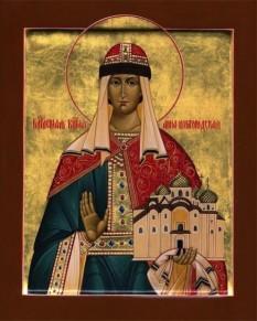 Sfânta Cuvioasă Ana din Novgorod. Prăznuirea sa de către Biserica Ortodoxă se face la data de 10 februarie - foto: doxologia.ro