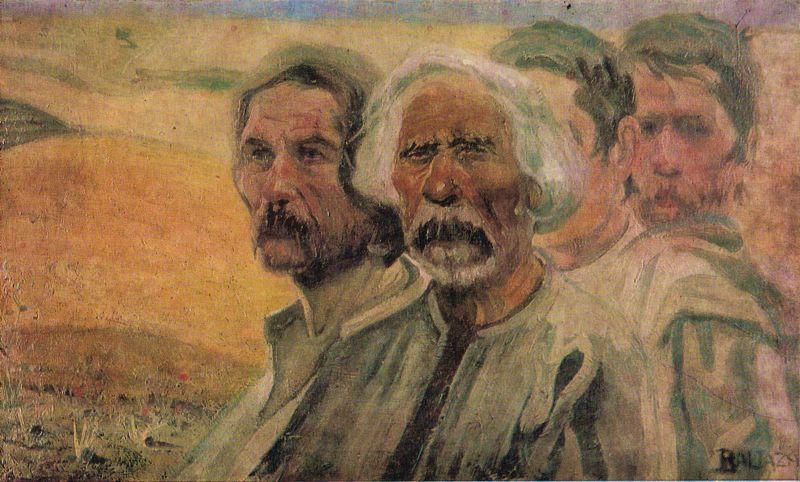"""Răscoala Țărănească din 1907 - """"Țărani"""", Abgar Baltazar - foto preluat de pe ro.wikipedia.org"""