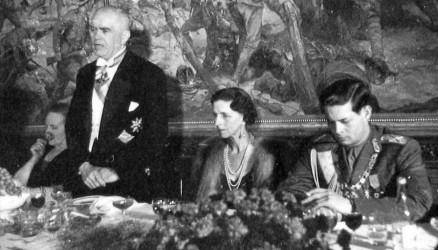 Andrei Ianuarevici Vâşinki, Regina Mamă Elena, Regele Mihai - foto: Arhivele Naţionale, Fond ISISP