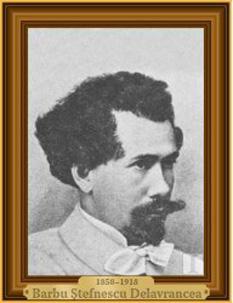 Barbu Ștefănescu Delavrancea (n. 11 aprilie 1858, București, d. 29 aprilie 1918, Iași) a fost un scriitor, orator și avocat român, membru al Academiei Române și primar al Capitalei. Este tatăl pianistei și scriitoarei Cella Delavrancea, precum și al arhitectei Henrieta (Riri) Delavrancea, una dintre primele femei-arhitect din România - foto: cersipamantromanesc.wordpress.com