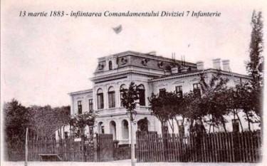 Comandamentul Diviziei 7 Infanterie din Roman. Divizia 7 Infanterie a fost una din marile unități permanente ale Armatei României, care a participat la acțiunile militare pe frontul românesc, pe toată perioada războiului, între 27 august 1916 - 11 noiembrie 1918 - foto - ro.wikipedia.org