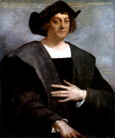 Cristofor Columb (n. între august și octombrie 1451 – d. 20 mai 1506) navigator italiano-spaniol. A navigat spre vest, pe Oceanul Atlantic, în căutarea unei rute spre Asia, dar și-a câștigat reputația descoperind un nou continent, America, în perioada precolumbiană fiind cunoscută numai Lumea Veche - in imagine, Cristofor Columb. Portret postmortem de Sebastiano del Piombo, 1519 - foto: ro.wikipedia.org