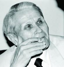 Corneliu (Cornel) Coposu (n. 20 mai 1914, Bobota, Sălaj – d. 11 noiembrie 1995, București), politician român, liderul opoziției din România postcomunistă - foto Mediafax (preluat de pe adevarul.ro