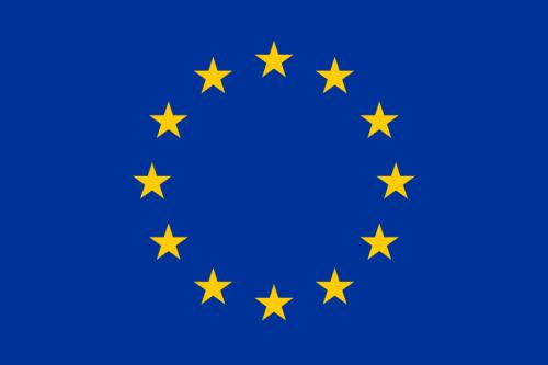 Steagul european e format dintr-un cerc de douăsprezece stele aurii pe un fundal albastru. Deși steagul este asociat de obicei cu Uniunea Europeană, a fost folosit inițial de Consiliul Europei, pentru a reprezenta acest continent ca un întreg - foto: ro.wikipedia.org