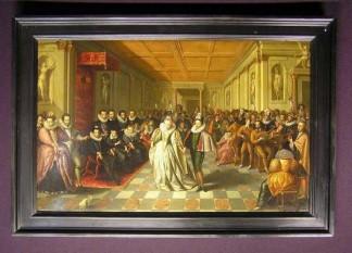 Henric al III-lea (în franceză Henri III, în poloneză Henryk) (19 septembrie 1551 – 2 august 1589) din dinastia Valois a fost rege al Franței între 1574 - 1589 și Rege al Poloniei între 1573 și 1574 cu titlul de Henric de Valois - in imagine,  Henric al III-lea, Rege al Franţei şi Louise de Lorraine (Muzeul Luvru, Paris) - foto - cersipamantromanesc.wordpress.com