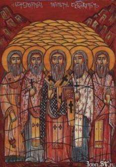Icoana Soborului tuturor neomartirilor georgieni uciși de cei fără de Dumnezeu - foto - cubreacov.wordpress.com