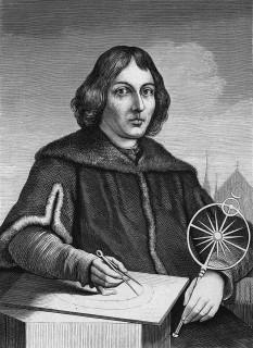 Nicolaus Copernic (germ. Nikolaus Kopernikus, pol. Mikołaj Kopernik) (n. 19 februarie 1473, în orașul liber hanseatic Toruń, aflat azi în Polonia - d. 24 mai 1543, Frauenburg, astăzi Frombork, Polonia), astronom și cosmolog, matematician și economist, preot și prelat catolic, a dezvoltat teoria heliocentrică a Sistemului Solar. Naționalitatea sa este reclamată și de germani, dar majoritatea istoricilor îl consideră polonez - in imagine, Nicolaus Copernic (1473-1543), reprezentare din anii studenţiei - foto - ro.wikipedia.org