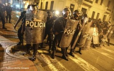 Stare de urgenta in Peru - foto - stirileprotv.ro