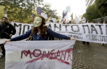 Protest anti-monsanto în Argentina - foto - presalibera.net