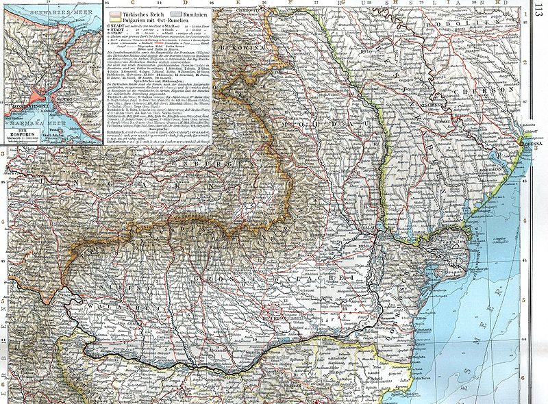 România 1878-1913 - foto preluat de pe ro.wikipedia.org