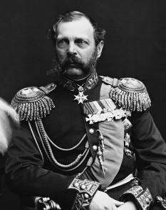 Alexandru (Aleksandr) al II-lea Nicolaevici (n. 29 aprilie 1818, Moscova – d. 13 martie 1881, Sankt Petersburg), fiul lui Nicolae I al Rusiei, a fost Țarul (Împăratul) Rusiei de la 2 martie 1855 și până la asasinarea sa în 1881. De asemenea, a fost și Mare Duce al Finlandei și a revendicat titlul de rege al Poloniei - foto: ro.wikipedia.org