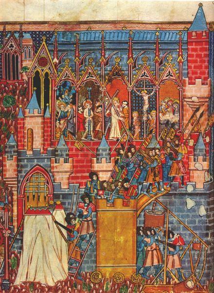 Asediul Ierusalimului (1099) - Guillaume de Tyr (1130 - 29 septembrie 1186) - foto preluat de pe ro.wikipedia.org