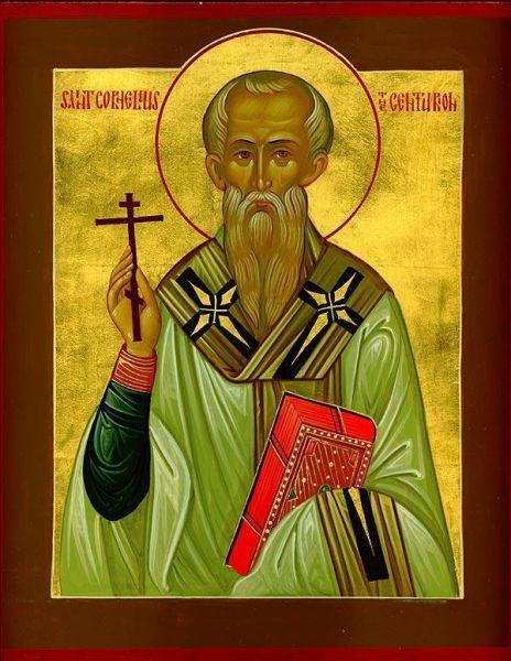 Sfântul Sfințit Mucenic Corneliu Sutașul. Prăznuirea sa de către Biserica Ortodoxă se face la data de 13 septembrie - foto: doxologia.ro