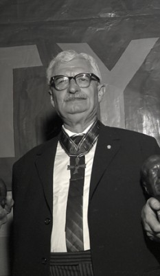 Hermann Oberth în anul 1961 - foto - ro.wikipedia.org