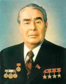 Leonid Ilici Brejnev (n. 19 decembrie 1906 - d. 10 noiembrie 1982) conducătorul efectiv al Uniunii Sovietice din 1964 până în 1982, în calitate de Secretar General al Partidului Comunist al Uniunii Sovietice și în perioadele 1960 - 1964 și 1977 - 1982, președinte al Prezidiului Sovietului Suprem (șef al statului) - foto: moldovenii.md