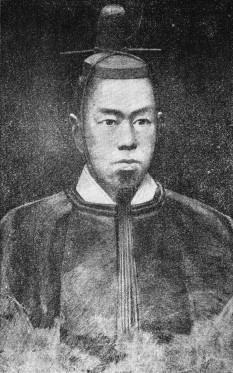 Împăratul Kōmei (n. 22 iulie 1831 – d. 30 ianuarie 1867) al 121-lea împărat al Japoniei. A domnit din 10 martie 1846 până în 30 ianuarie 1867 -  foto - ro.wikipedia.org