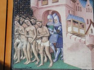 Alungarea catharilor din Carcassonne în 1209 - foto - ro.wikipedia.org