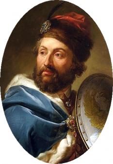 Cazimir al IV-lea Iagello (n. 30 noiembrie 1427 - d. 7 iunie 1492), Mare Duce al Lituaniei din 1440 și Rege al Poloniei din 1447, până la moartea sa - foto (Portret de Marcello Bacciarelli): ro.wikipedia.org