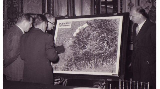 Delegația României în apărarea hotarelor Transilvaniei în fața Atlasului Antonescu, Conferința de Pace de la Paris 19 iulie – 15 octombrie 1946, sursă:ziaristionline.ro - foto: cersipamantromanesc.wordpress.com
