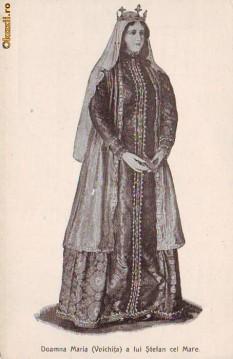 Maria Voichița, fiica lui Radu cel Frumos, nepoata lui Vlad Dracul, strănepoata lui Mircea cel Bătrân, mama lui Bogdan al III-lea și bunica lui Ștefăniță, cea de a treia soție a domnului Ștefan cel Mare, doamnă a Țării Moldovei între 1480 și 1511 - foto - moldovenii.md