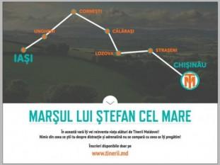 Marsul lui Stefan cel Mare - Chişinău - 5 iulie 2015 - foto - infoprut.ro