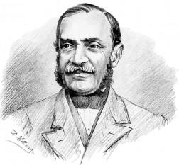 Nicolae Kretzulescu (n. 1 martie 1812, București – d. 26 iunie 1900, Leordeni, Argeș) politician liberal român, care a deținut de trei ori funcția de prim-ministru al României (între 1862-1863, 1865-1866 și în 1867) - foto: ro.wikipedia.org