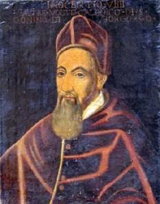 Papa Inocențiu al IX-lea  (n. 22 iulie 1519 - d. 30 decembrie 1591) papă al Romei - foto - ro.wikipedia.org
