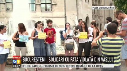 Protest Universitate 26 iulie 2015 - foto (captura) - youtube.com