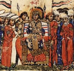 Theophil (Teofil) (813 - 842), împărat bizantin între 829 și 842. Fiul lui Mihail II Amorianul și al Theklei, nepotul lui Leon V Armeanul -  foto - ro.wikipedia.org