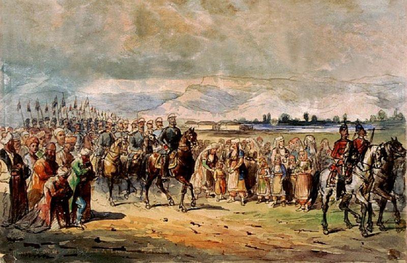 Primirea Prinţului Carol al României in Bulgaria - foto preluat de pe cersipamantromanesc.wordpress.com