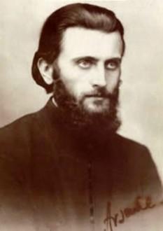 Arsenie Boca (n. 29 septembrie 1910, Vața de Sus, Hunedoara - d. 28 noiembrie 1989, Sinaia), părinte ieromonah, teolog și artist plastic (muralist) ortodox român, a fost stareț la Mănăstirea Brâncoveanu de la Sâmbăta de Sus și apoi la Mănăstirea Prislop, unde datorită personalității sale veneau mii și mii de credincioși, fapt pentru care a fost hărțuit de Securitate - foto: arsenieboca.ro