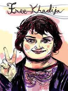 Free Khadija - foto - facebook.com/freekhadija