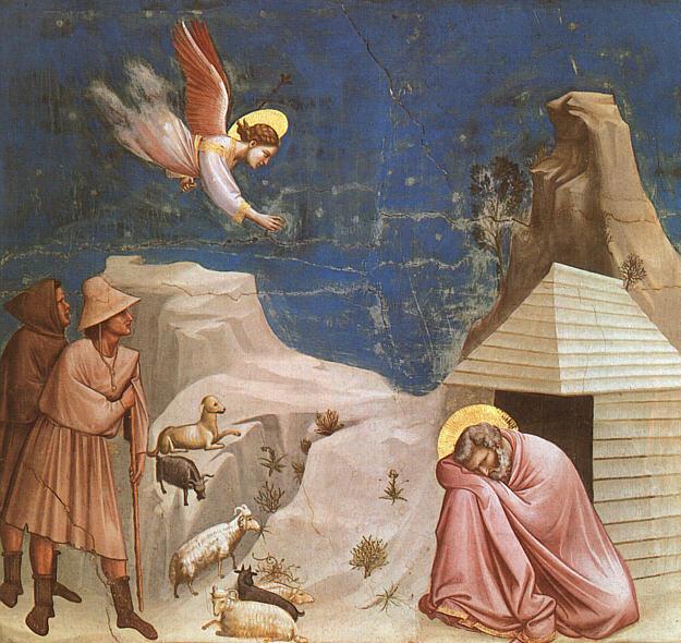 Visul Sfântului Ioachim (Giotto) - foto preluat de pe ro.wikipedia.org