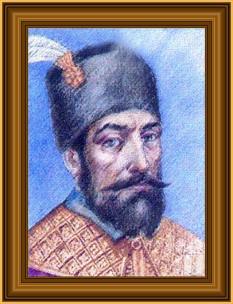 Radu Mihnea (n. 1574 – d. 1626), domn al Țării Românești: noiembrie 1601 - martie 1602, aprilie 1611 - mai 1611, 12 septembrie 1611 - august 1616, august 1620 - august 1623 și al Moldovei: 24 iulie 1616 - 9 februarie 1619 și 4 august 1623 - 20 ianuarie 1626 - foto: istoria.md