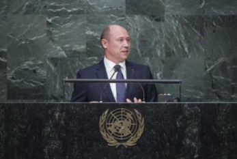 Prim-ministrul Streleț la tribuna ONU - foto: infoprut.ro (gov.md)