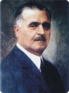 Vasile Goldiș (n. 12 noiembrie 1862, Mocirla, azi Vasile Goldiș, Arad - d. 10 februarie 1934, Arad) a fost un pedagog, om politic, membru de onoare (1919) al Academiei Române. foto; mariusboita.acciza.ro