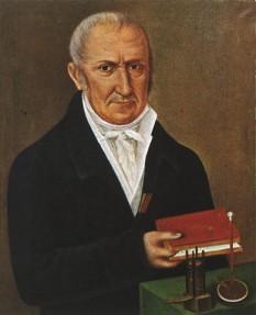 Alessandro Giuseppe Antonio Anastasio Volta (n.18 februarie 1745, Como, Ducatul Milanului, astăzi în Italia - d. 5 martie 1827, Camnago lângă Como, Lombardia-Veneția), fizician italian, a inventat pila electrică, iar numele său a fost dat unității de tensiune electrică (volt) - foto: en.wikipedia.org