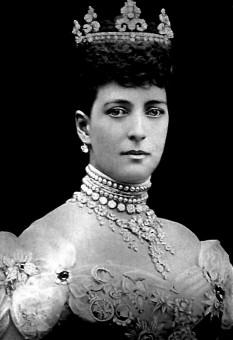 Alexandra a Danemarcei (1 decembrie 1844 - 20 noiembrie 1925), soția regelui Eduard al VII-lea al Regatului Unit și, astfel, împărăteasă a Indiei în timpul domniei soțului ei - foto: ro.wikipedia.org