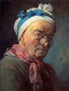 Jean (Baptiste) Siméon Chardin (n. 2 noiembrie 1699, Paris - d. 6 decembrie 1779, Paris), pictor francez, considerat ca unul din cei mai mari artiști ai secolului al XVIII-lea.  foto (Chardin: Autoportret, pastel 1771 - Muzeul Louvre, Paris): ro.wikipedia.org
