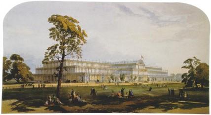 Crystal Palace - Prima expoziţie universală la Hyde Park în 1851 - foto: ro.wikipedia.org