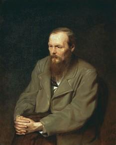 Feodor Mihailovici Dostoievski (n. 30 octombrie 1821 (S.N. 11 noiembrie) – d. 28 ianuarie 1881 (S.N. 9 februarie), St. Petersburg, Rusia), unul din cei mai importanți scriitori ruși, operele sale având un efect profund și de durată asupra literaturii, filozofiei, psihologiei și teologiei secolului al XX-lea - foto (Portret de Vasili Perov, 1872): ro.wikipedia.org
