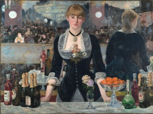 Manet's A Bar at the Folies-Bergère - foto: en.wikipedia.org