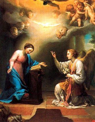 Sfântul Arhanghel Gavriil (sau Gabriel) a fost numit voievod (conducător) al oștirilor cerești; numele lui este asociat cu multe întâmplări din Sfânta Scriptură, și mai ales cu vestirea către Maica Domnului a zămislirii Domnului Iisus Hristos. Astfel, rolul său cel mai important a fost considerat cel de vestitor al mântuirii oamenilor. Biserica ține Soborul Sf. Arhanghel Gavriil pe 26 martie, în ziua următoare Bunei Vestiri, și iarăși pe 13 iulie; de asemeni, este sărbătorit împreună cu ceilalți Arhangheli pe 8 noiembrie  foto (Buna Vestire de Anton Raphael Mengs — Arhanghelul Gabriel apărând înaintea Preacuratei Fecioare Maria): ro.wikipedia.org