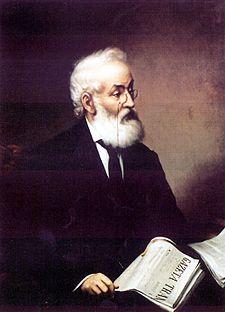 Iacob Mureșianu (n. 28 noiembrie 1812, Rebrișoara, Bistrița-Năsăud - d. 29 septembrie 1887, Brașov), publicist, poet și om politic român, membru de onoare (din 1877) al Academiei Române - foto (Portret de Mișu Popp): ro.wikipedia.org