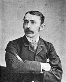 Sir John Ambrose Fleming (n. 29 noiembrie 1849 – d. 18 aprilie 1945), inginer și fizician englez, specialist în electricitate, cunoscut pentru inventarea în 1904 a primului tub electronic, dioda, denumită pe atunci kenotron - foto (John Ambrose Fleming 1890): ro.wikipedia.org