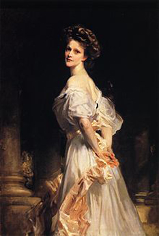 Nancy Witcher Langhorne Astor, Viscountess Astor, (19 May 1879 – 2 May 1964) was the first female Member of Parliament to take her seat - foto (Portrait of Nancy Astor by John Singer Sargent, 1909): en.wikipedia.org